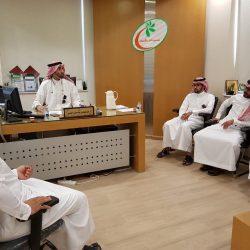 أمير تبوك يلتقي معالي رئيس وكالة الأنباء السعودية