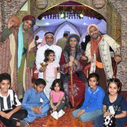شيخ قبائل بني يوسف بثقيف في زياره لمحافظ الطائف السابق فهد بن معمر