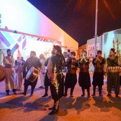 زيارات رسمية لسوق عكاظ من سفراء وقناصل