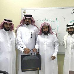 عضو المجلس البلدي تشارك في حملة التوعية ومحو الأمية بتعليم الأحساء