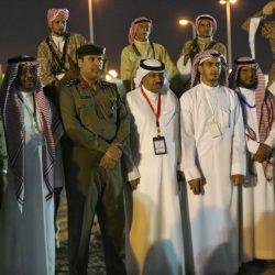 الاعلامي حمدان بن بكري رئيس اللجنة الاعلامية للهايكنج يشكر المشاركين