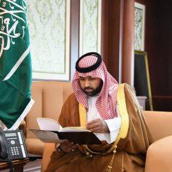 أمير تبوك يستقبل نائب قائد قوات الدفاع الجوي