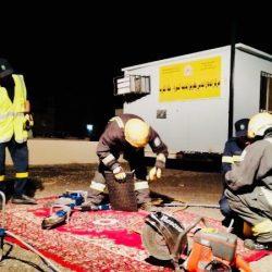 مدير عام حرس الحدود يمنح الحازمي نوط الإنقاذ
