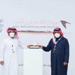 حضور لافت وتشجيع من صغار السن في مهرجان الملك عبدالعزيز