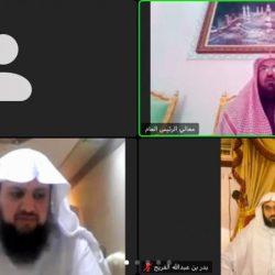 الضويان يحتفي بزواج ابنه وابن أخيه بمحافظة جدة