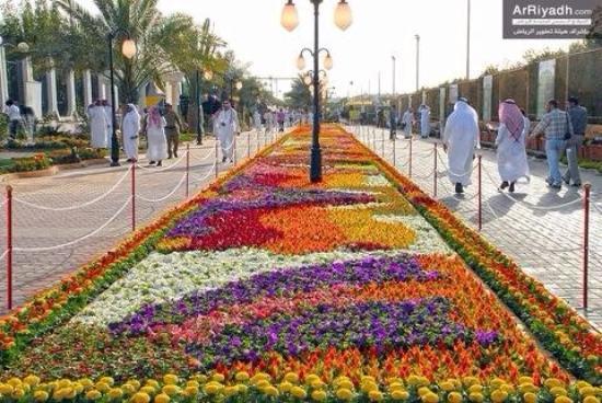 حديقة الزهور في أبهى حلة تستقبل عيد الفطر صحيفة خبر عاجل