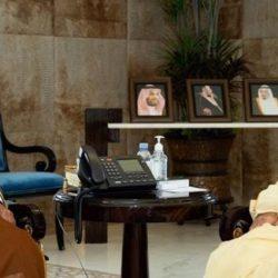 وزير الخارجية يلتقي وزير خارجية لوكسمبورغ