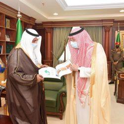 سمو الأمير محمد بن عبدالعزيز يتسلم التقرير السنوي لشركة المياه الوطنية للقطاع الجنوبي